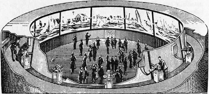 Демонстрация фильма в кинотеатре «Циркарама» (1955)