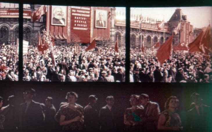 На экранах первый советский кругорамный фильм «Дорога весны»